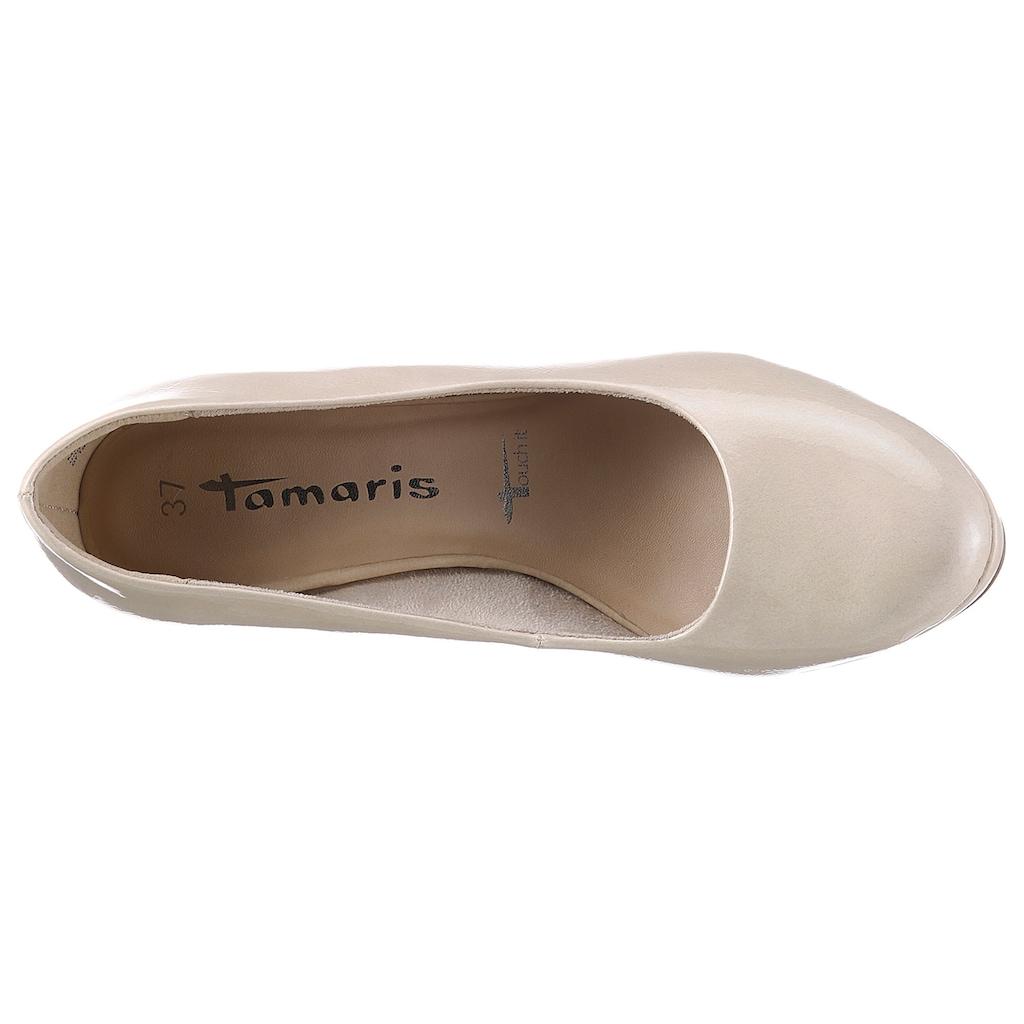Tamaris Pumps, in klassischer Linie