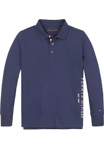 TOMMY HILFIGER Langarm-Poloshirt »ESSENTIAL ESTABLISHED P« kaufen