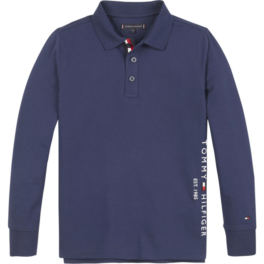 TOMMY HILFIGER Langarm-Poloshirt »ESSENTIAL ESTABLISHED P«