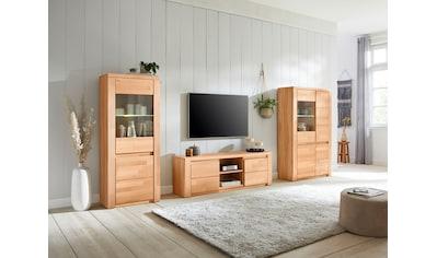 Premium collection by Home affaire Wohnwand »Burani«, (Set, 3 tlg.), teilmassives Holz kaufen
