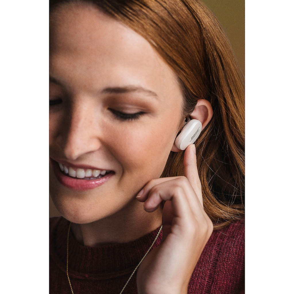 Bose wireless In-Ear-Kopfhörer »QuietComfort Earbuds«, Bluetooth, Noise-Cancelling, Acoustic Noise Cancelling