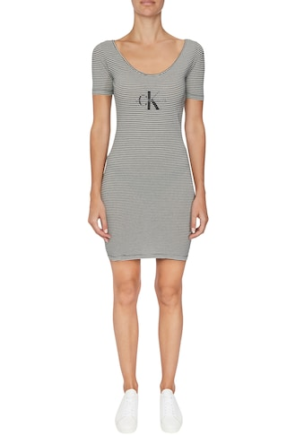 Calvin Klein Jeans Jerseykleid »MONOGRAM STRIPE BALLET DRESS« kaufen