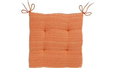 Dohle&Menk Stuhlkissen »Ribeira Rita«, mit feinen Streifen kaufen