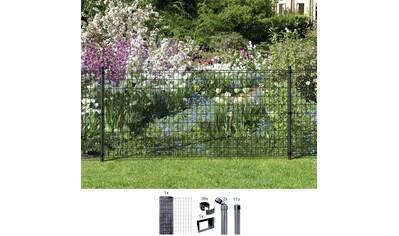 GAH ALBERTS Set: Schweißgitter »Fix - Clip Pro®«, 100 cm hoch, 25 m, anthrazit beschichtet, zum Einbetonieren kaufen
