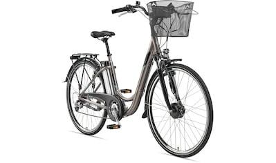 Telefunken E - Bike »Multitalent RC820«, 7 Gang Shimano Shimano Acera Schaltwerk, Kettenschaltung, Frontmotor 250 W (mit Fahrradkorb) kaufen