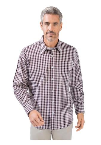 Marco Donati Langarm - Hemd im hochwertigem Webkaro kaufen