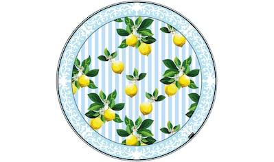 MySpotti Vinylteppich »Fortuna«, rund, 0 mm Höhe, rund, wasserfest und statisch haftend kaufen