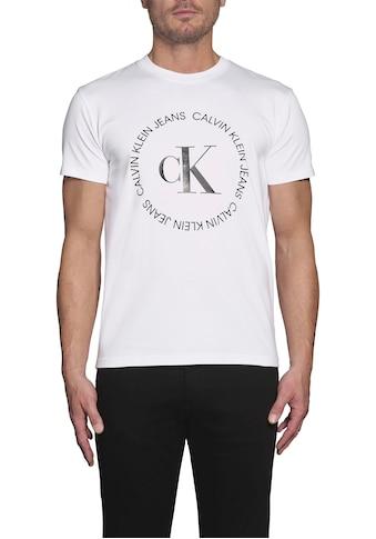 Calvin Klein Jeans T-Shirt »CK ROUND LOGO REG TEE« kaufen