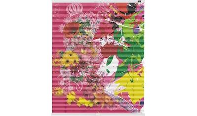Plissee, »Klemmfix Motiv Colourful«, POMPÖÖS by Lichtblick, blickdicht, ohne Bohren kaufen