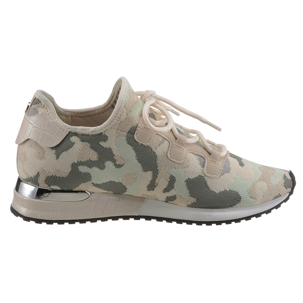 La Strada Slipper »Fashion Sneaker«, in Camouflage Optik