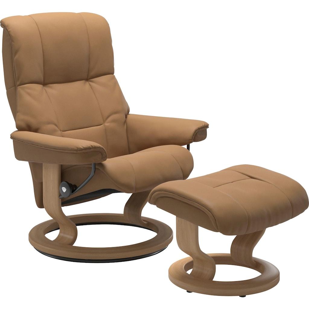 Stressless® Relaxsessel »Mayfair«, mit Hocker, mit Classic Base, Größe S, M & L, Gestell Eiche