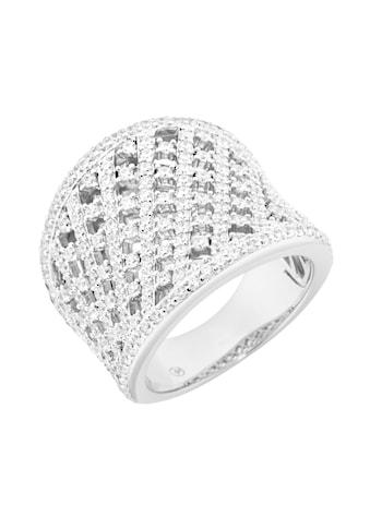 GIORGIO MARTELLO MILANO Silberring »Zirkonia Steine« kaufen