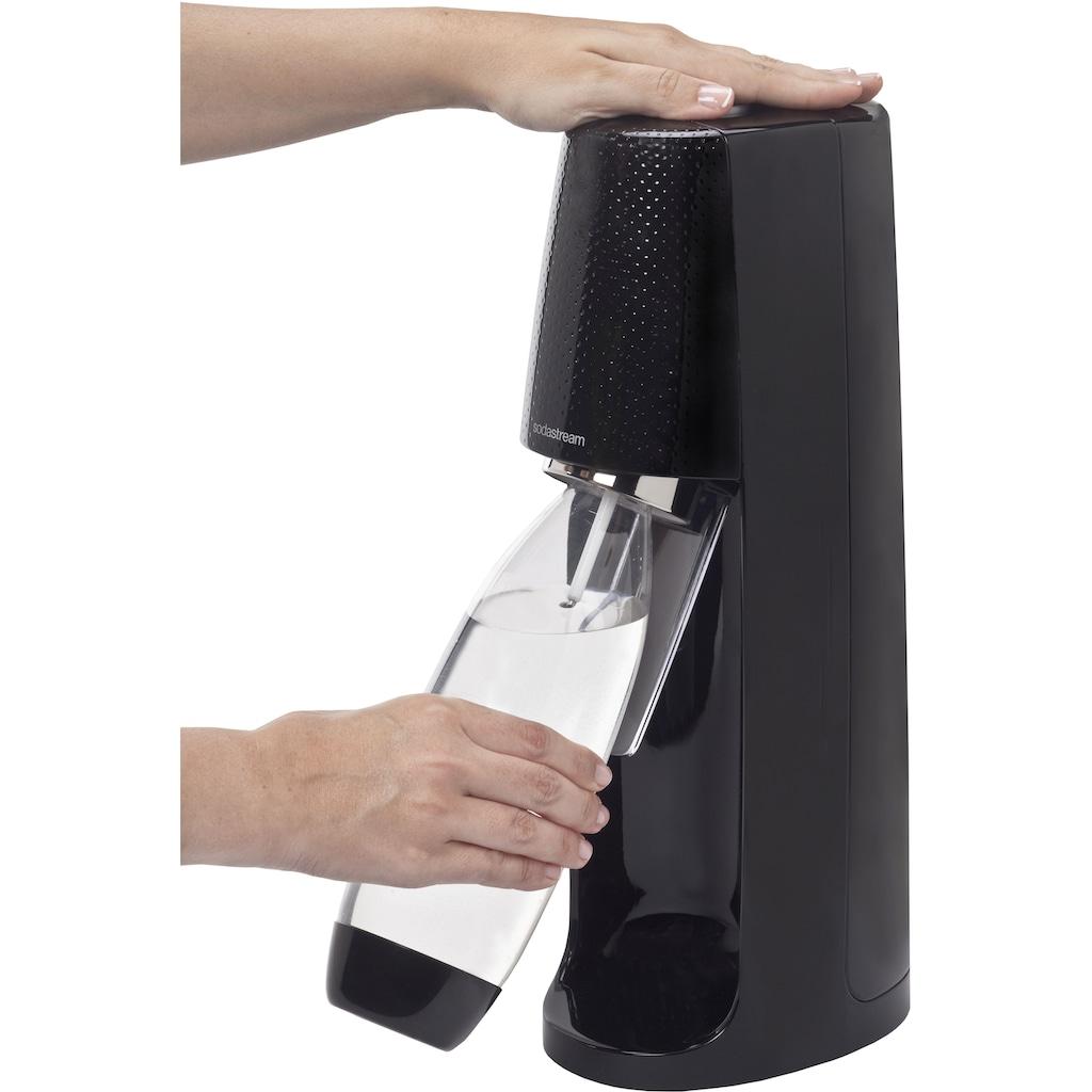 SodaStream Wassersprudler »Easy«, (Set, 3 tlg., 1 Wassersprudler, 1 PET-Flasche, 1 Zylinder)