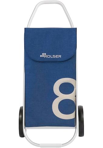 ROLSER Einkaufstrolley »8 Com Tweed«, mit 2 Rädern, zuzammenplappbar kaufen