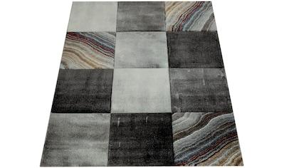 Paco Home Teppich »Smaragd 754«, rechteckig, 18 mm Höhe, Kurzflor mit 3D-Design,... kaufen