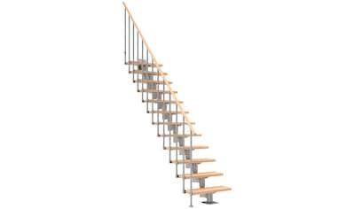 Dolle Mittelholmtreppe »Cork«, Birke, 11 Stufen, versch. Ausführungen kaufen