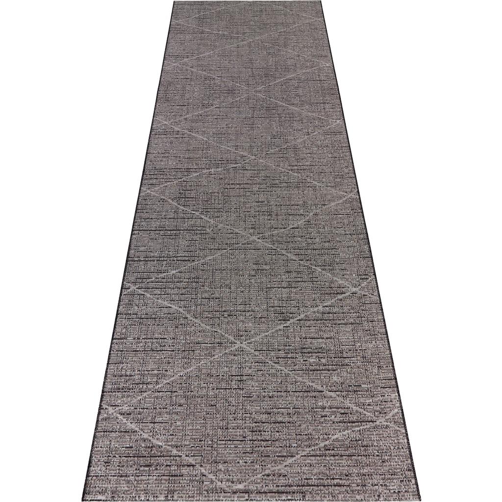 ELLE Decor Läufer »Blois«, rechteckig, 3 mm Höhe, In- und Outdoorgeeignet