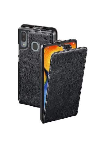 Hama Flap - Tasche Handy Hülle Samsung Galaxy A20e, aufklappbar »Smartphone Schutzhülle schwarz« kaufen