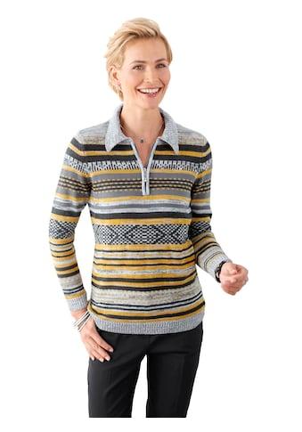 Classic Basics Pullover in ansprechendem Streifendessin kaufen