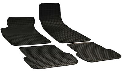 Walser Passform-Fußmatten, Audi, A4, Cabrio-Kombi-Stufenheck, (4 St., 2 Vordermatten, 2 Rückmatten), für Audi A4 B6, B7 BJ 2000 - 2005 kaufen