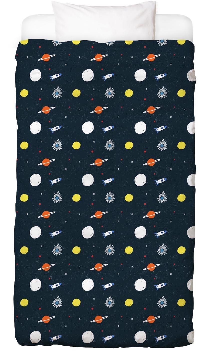 Bettwäsche Planets Pattern Juniqe