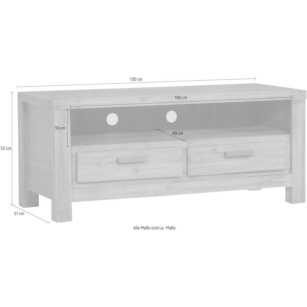 Gutmann Factory TV-Board »Tunis«, in schöner Holzoptin, Breite 120 cm