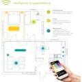 EGLO Pendelleuchte »HORNITOS-C«, LED-Board, Warmweiß-Tageslichtweiß-Neutralweiß-Kaltweiß, Hängeleuchte, EGLO CONNECT, Steuerung über APP + Fernbedienung, BLE, CCT, RGB, Smart Home, Farbwechsel