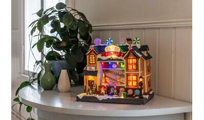 KONSTSMIDE LED Szenerie Süßigkeitenfabrik kaufen