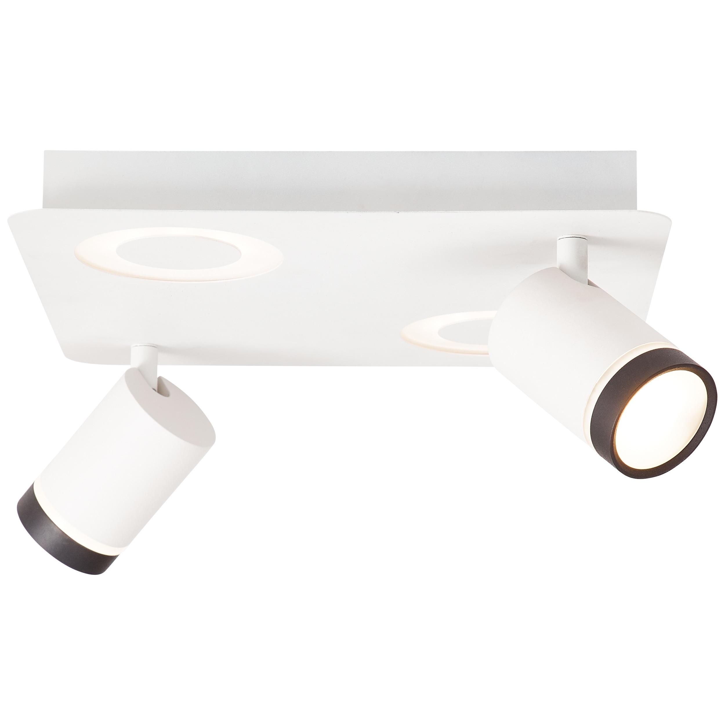 AEG Breena LED Spotplatte 4flg sand weiß/schwarz