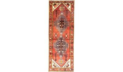 morgenland Wollteppich »Hamadan Teppich handgeknüpft orange«, rechteckig, 8 mm Höhe,... kaufen