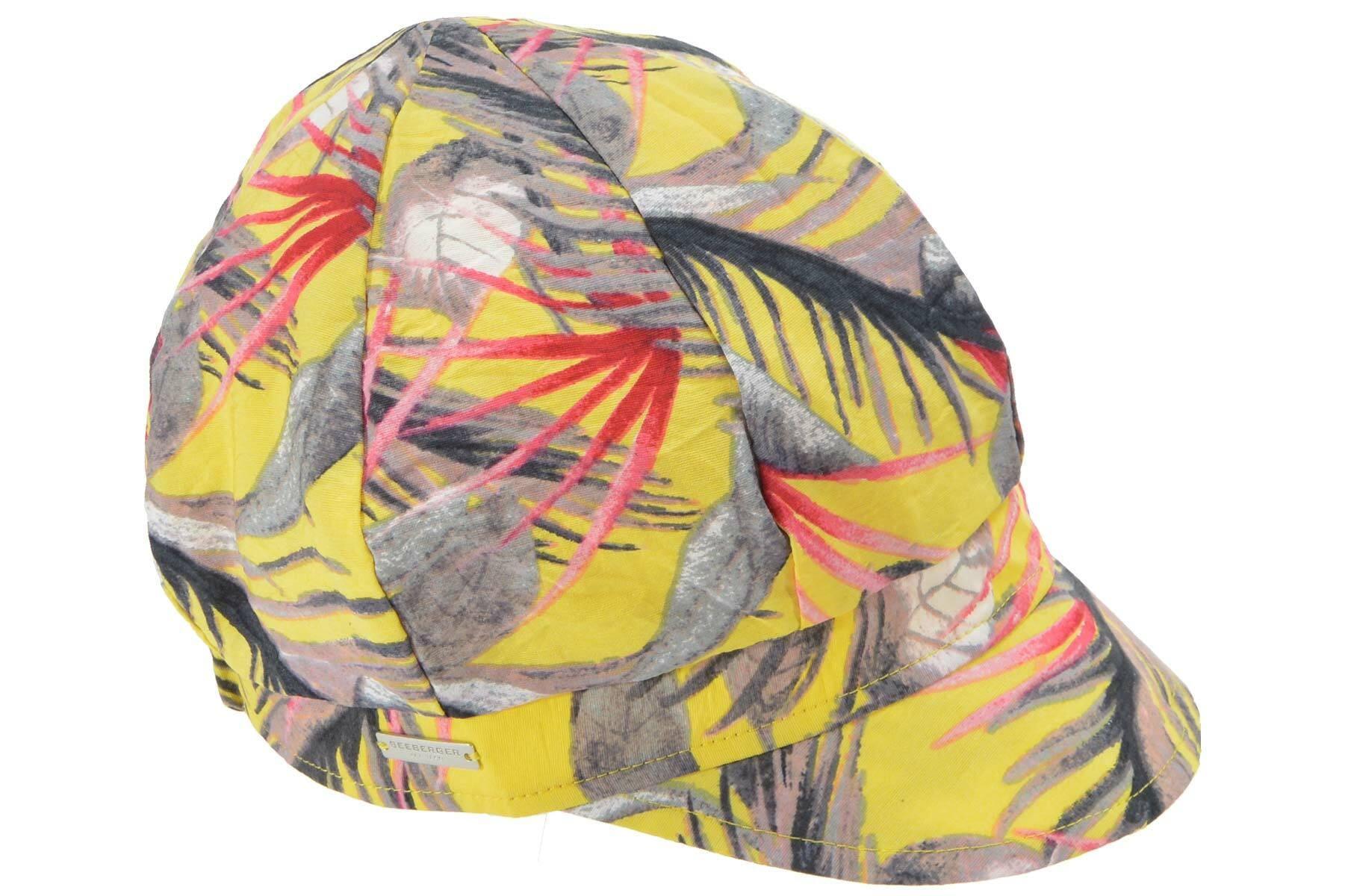 Seeberger Ballonmütze Ballonmütze aus gemustertem Stoff 54689-0 Damenmode/Schmuck & Accessoires/Accessoires/Mützen/Ballonmützen