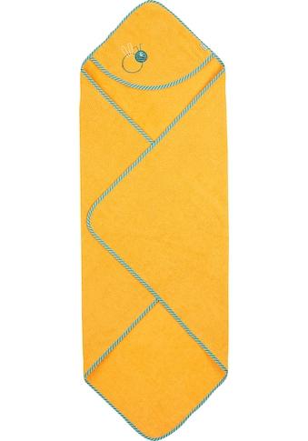 Sterntaler® Kapuzenhandtuch »Ben«, (1 St.), mit Biene kaufen