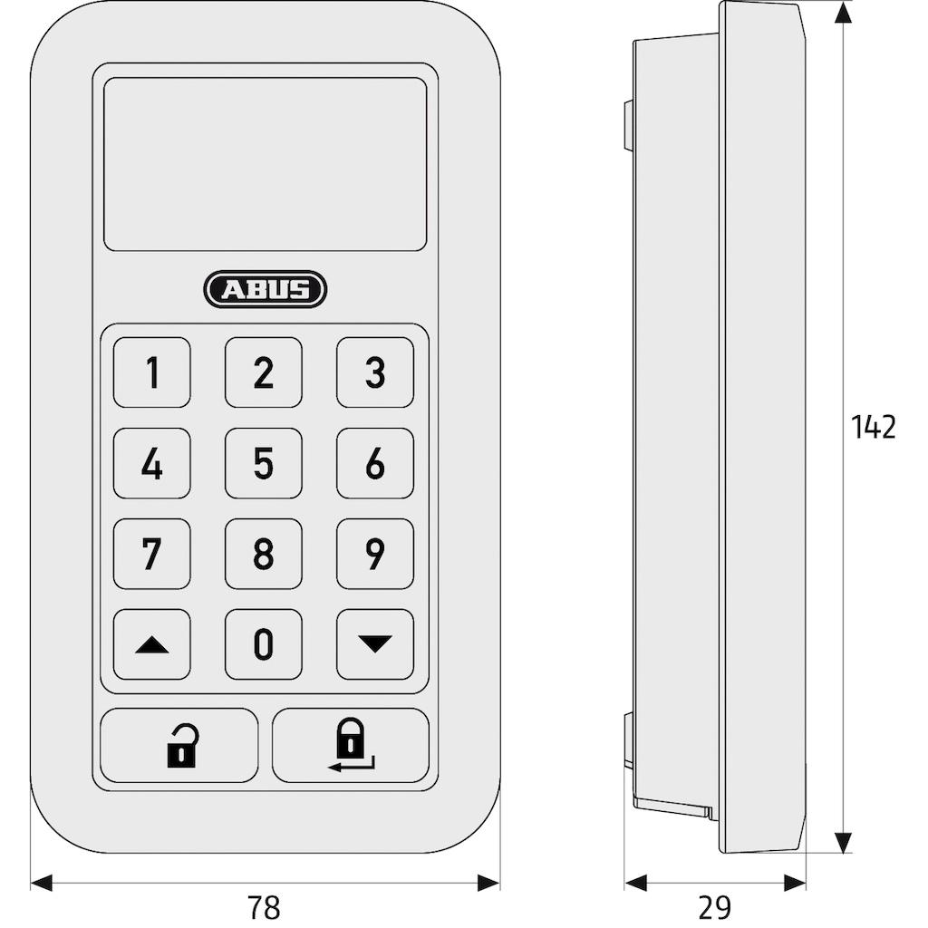 ABUS Funk-Empfangsmodul »HomeTec Pro CFT3000S«, Codeschloss, Erweiterung