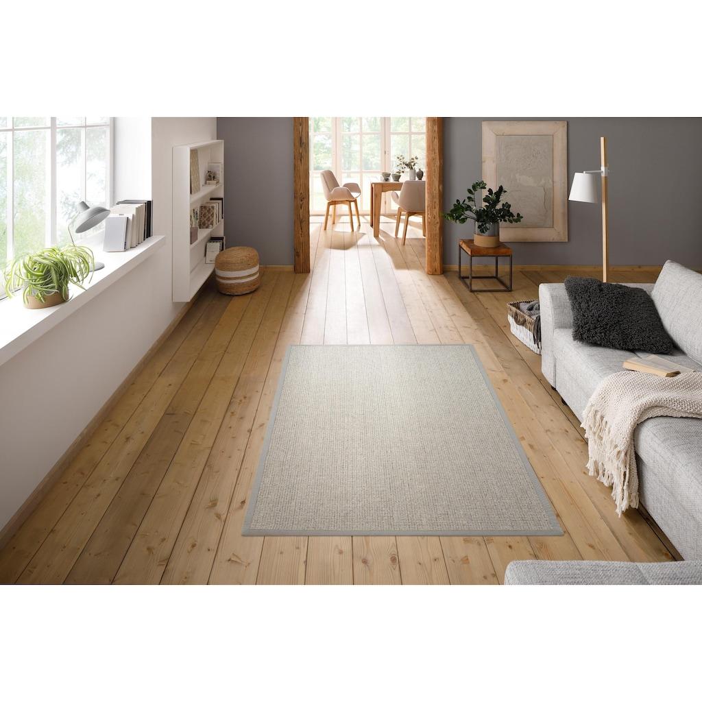 Home affaire Teppich »Sumati«, rechteckig, 6 mm Höhe, Echt Sisal, Wohnzimmer