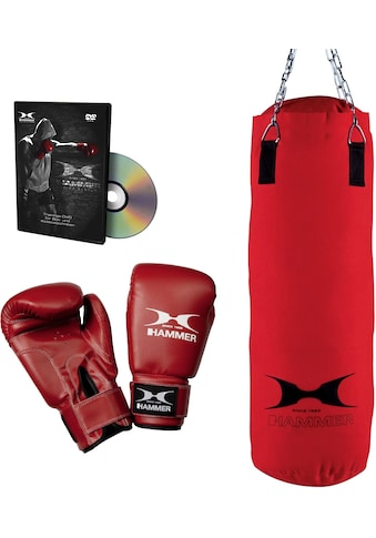 Hammer Boxsack »Fit« (Set, mit Trainings - DVD, mit Boxhandschuhen) kaufen