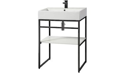 WELLTIME Waschtisch »Metall«, Breite 60 cm kaufen