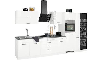 HELD MÖBEL Küchenzeile »Trier«, mit E-Geräten, Breite 370 cm kaufen
