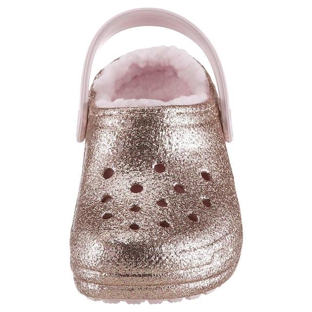 Crocs Clog »Classic Glitter Lined Clog«