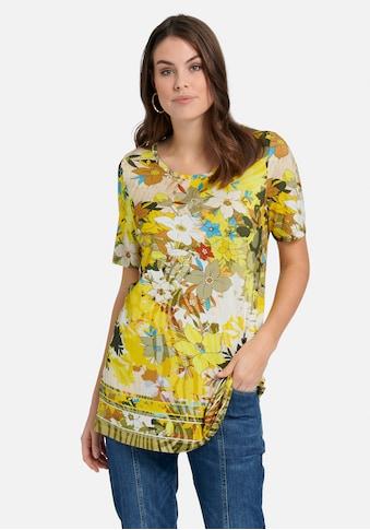 Emilia Lay Rundhalsshirt »Rundhalsshirt«, mit Allover-Muster kaufen