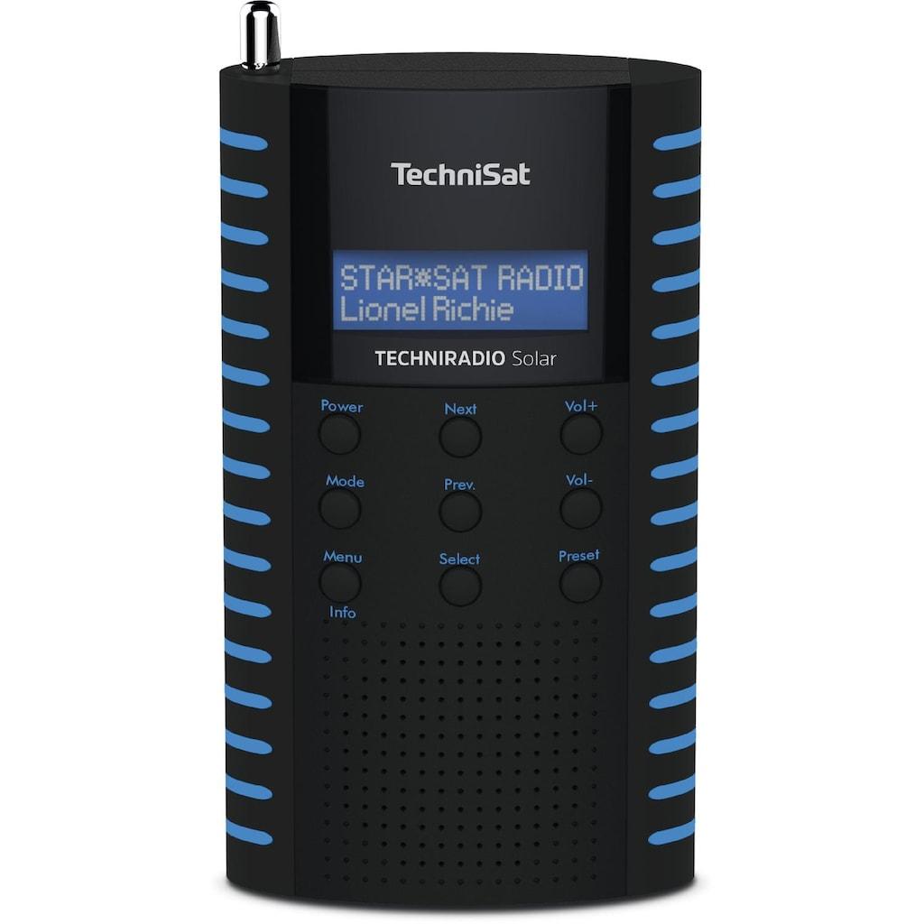TechniSat DAB+ Digitalradio, Solar Radio, LCD, USB