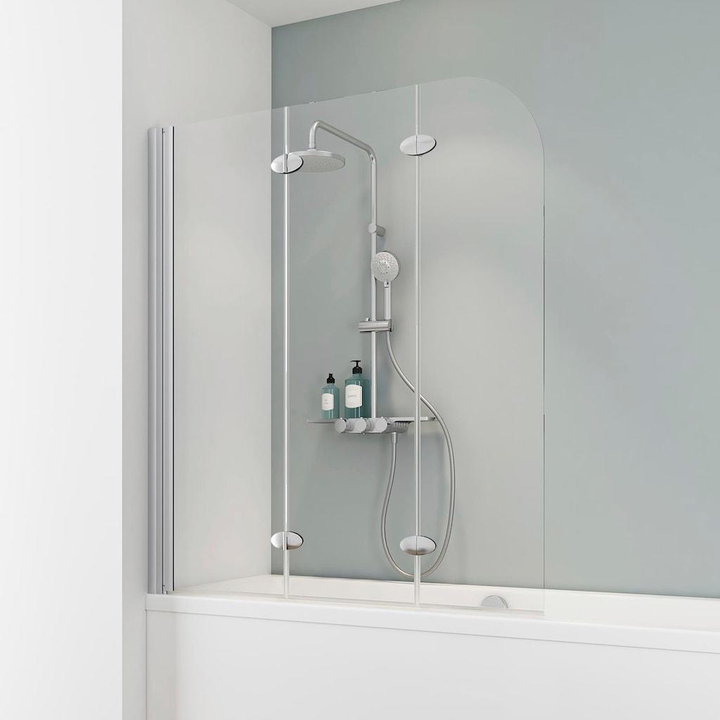 Schulte Badewannenfaltwand »Komfort«, Breite: 125 cm