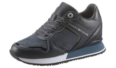 TOMMY HILFIGER Sneaker »DRESSY WEDGE MAT MIX SNEAKER« kaufen