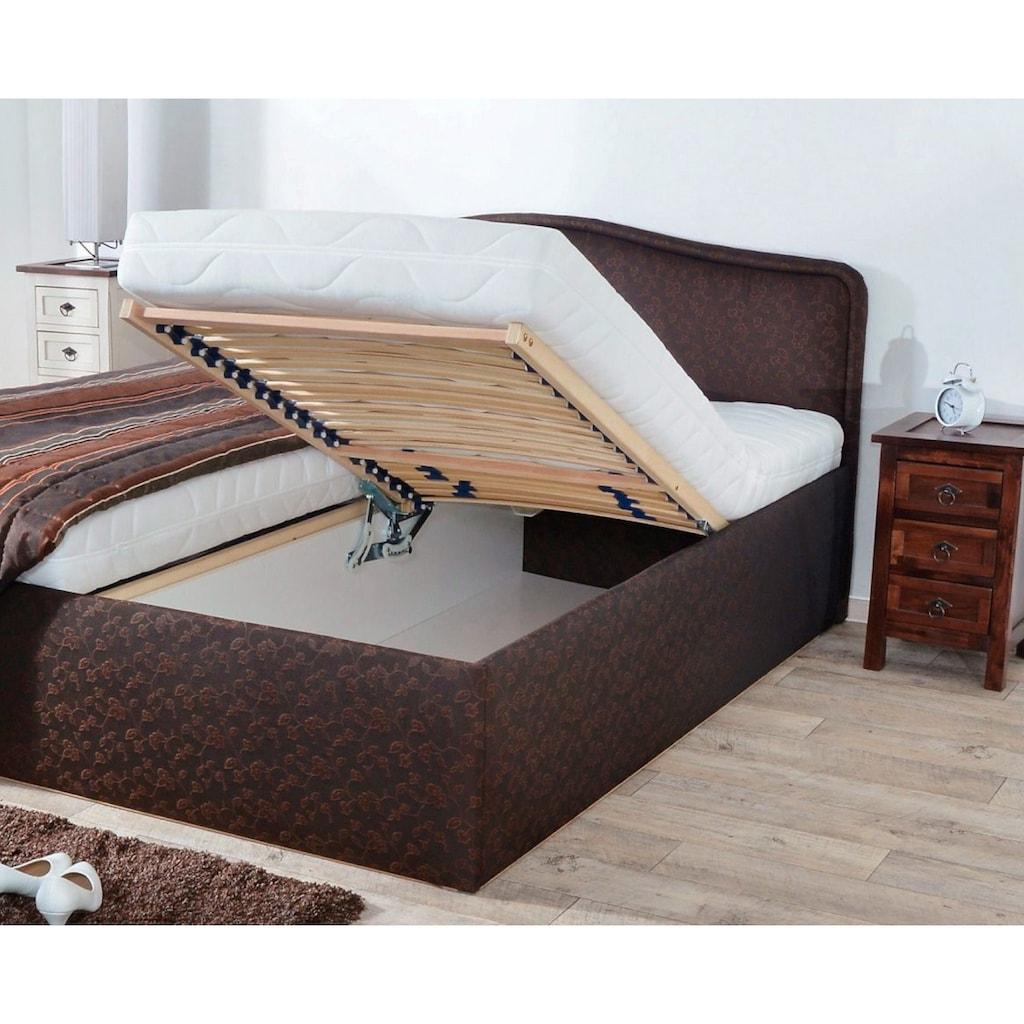 Westfalia Schlafkomfort Polsterbett, wahlweise mit Tagesdecke und Bettkasten