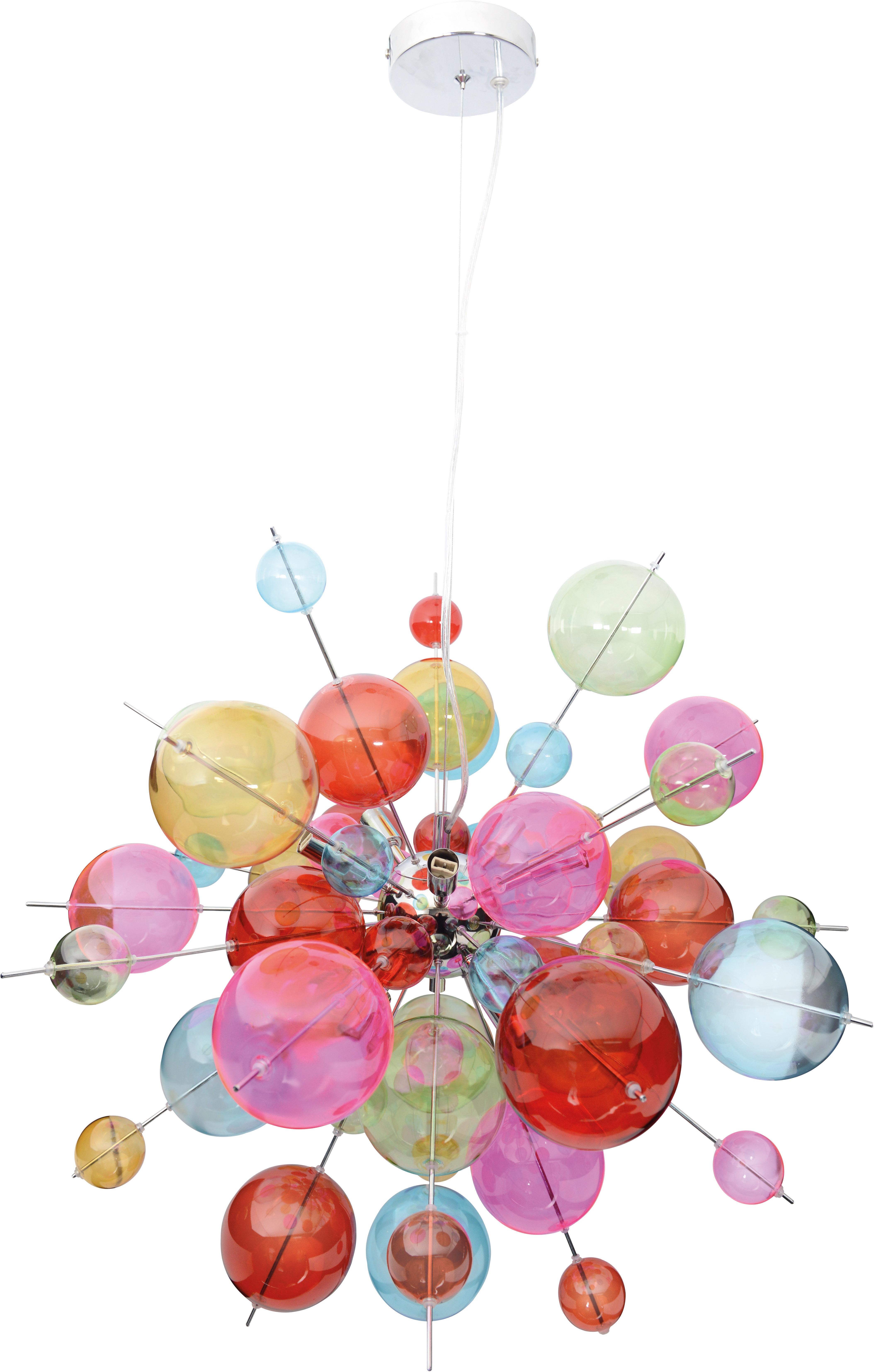 näve Pendelleuchte Glasball
