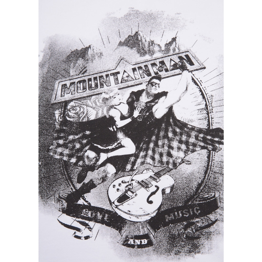 Andreas Gabalier Kollektion Trachtenshirt Herren mit Printmotiv