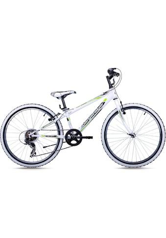 bergsteiger Mountainbike »Kansas«, 6 Gang, Shimano, Tourney RD-TY300 Schaltwerk,... kaufen