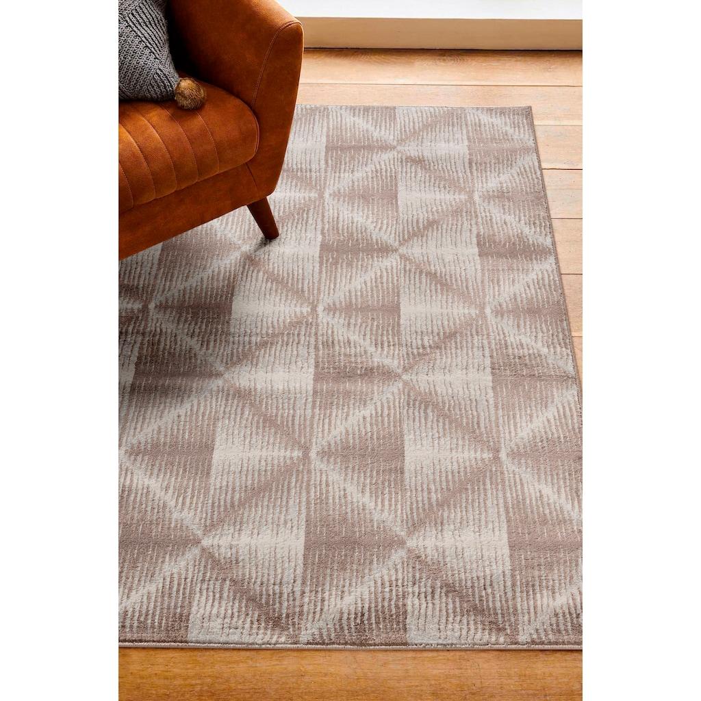 Sehrazat Orientteppich »Montana 3732«, rechteckig, 8 mm Höhe, Wohnzimmer