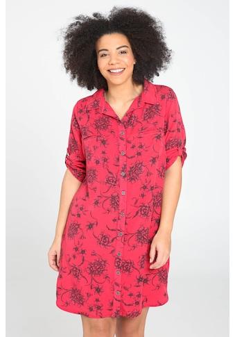 Paprika Druckkleid »Hemdkragen geblümt« kaufen