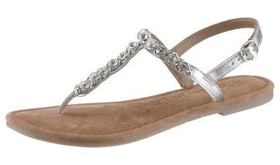 Tamaris Sandale »Milos«, im trendigen Metallic-Look kaufen