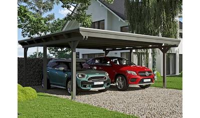 SKANHOLZ Doppelcarport »Emsland«, BxT: 613x604 cm kaufen